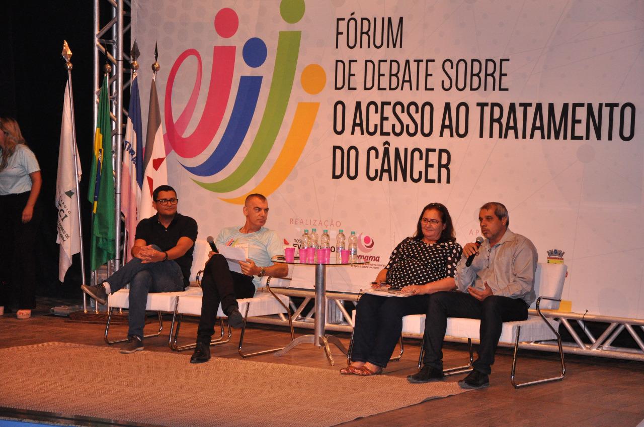 Guaçuí sedia Fórum de debate sobre tratamento do câncer