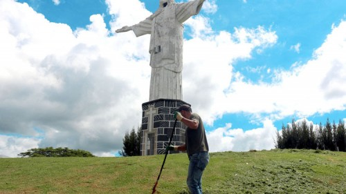 Área verde do Cristo Redentor é preparada para as férias