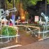 Guaçuí está iluminada para o Natal